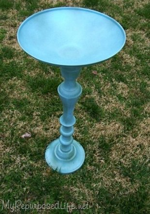 Refurbished BIrdbath