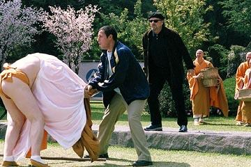 Adam Sandler and Jack Nicholson in Columbia's Anger Management