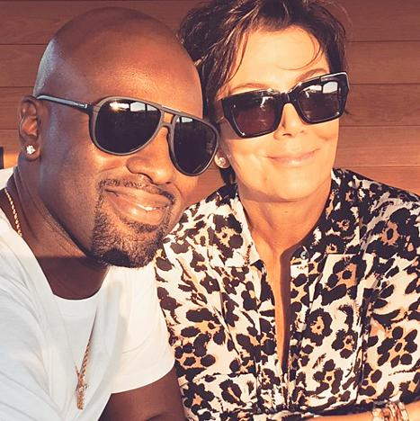 "Corey Gamble Offers Girlfriend Kris Jenner Support Ahead of Bruce Jenner's Interview: ""Proud Of My Babe"""