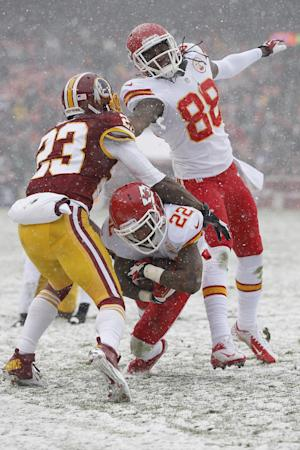 Chiefs find Redskins to be tonic for ills