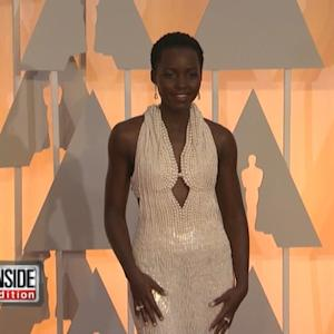 Lupita Nyong'o's Oscar Dress Stolen!