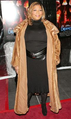 Queen Latifah at the New York Premiere of DreamWorks Pictures' and Paramount Pictures' Dreamgirls