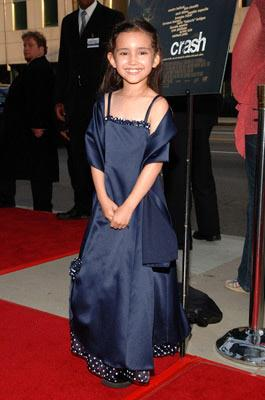 Ashlyn Sanchez at the Beverly Hills premiere of Lions Gate Films' Crash