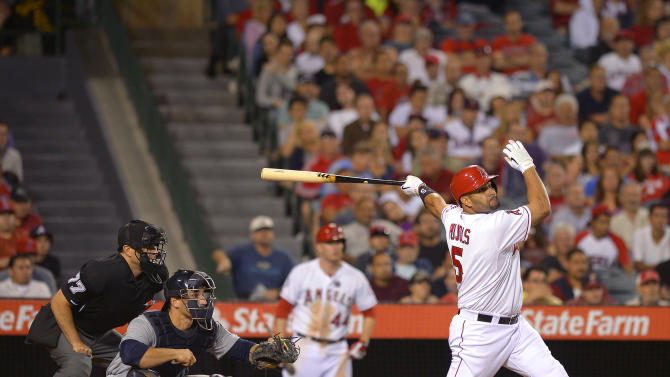 LA Angels belt Seattle with 21 hits in 11-3 win