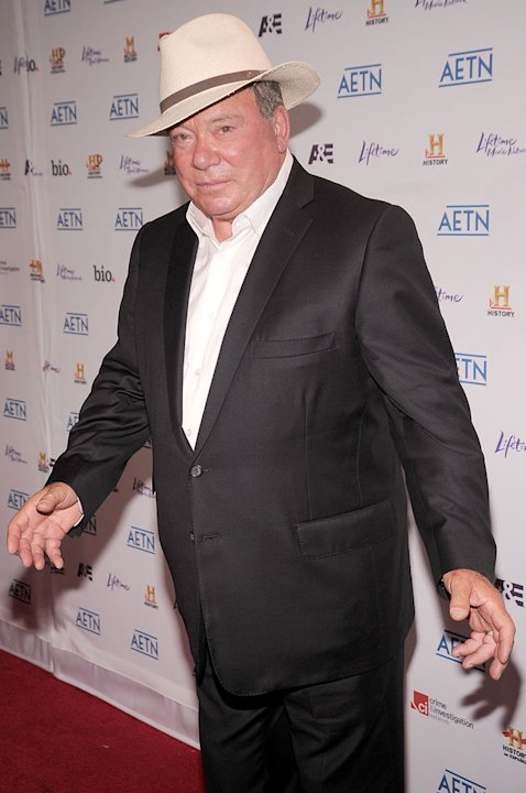 William Shatner attends the 2010 A&E Upfront at the IAC Building on May 5, 2010 in New York City.
