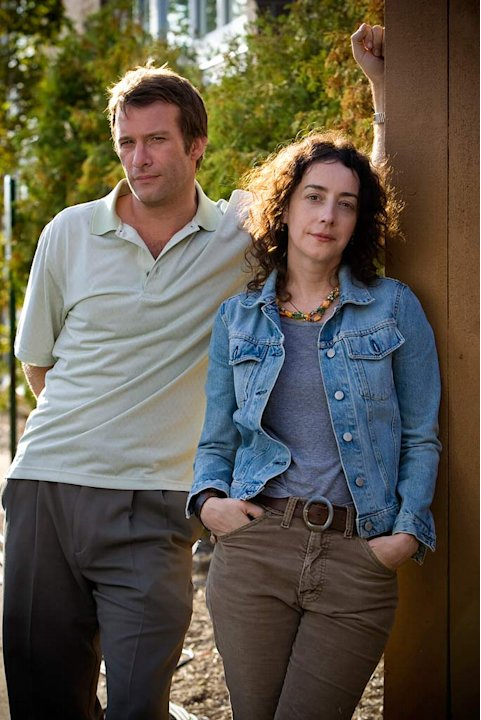Thomas Jane and Jane Adams in &quot;Hung.&quot; 