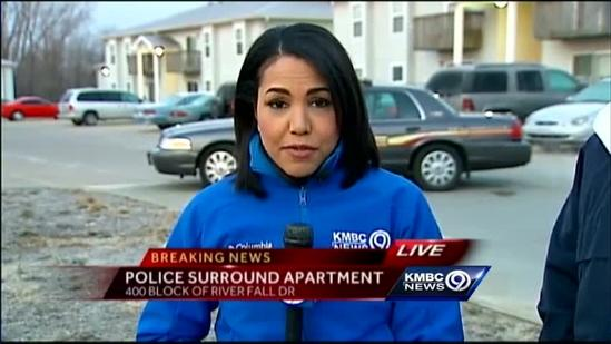 Edwardsville police in standoff with man