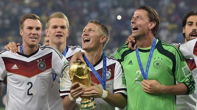 Germany top of FIFA rankings after World Cup win
