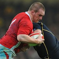 Gethin Jenkins is one of four players drafted into Wales&#39; starting XV