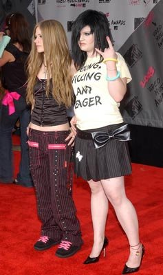 Avril Lavigne and Kelly Osbourne MTV Video Music Awards - 8/28/2003
