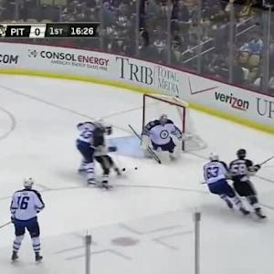 Thomas Greiss Save on Blake Wheeler (03:48/1st)