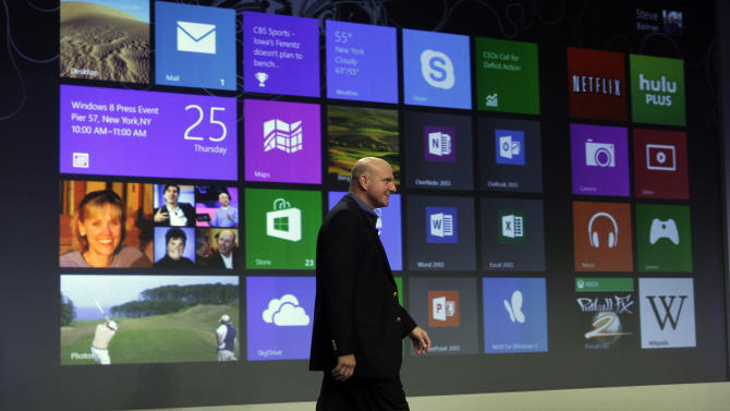 Windows 8 to bridge gap between PC, mobile devices