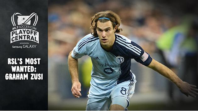 RSL Players agree: KC's Zusi is the one to watch out for | Playoff Central