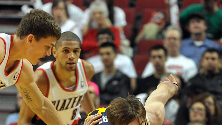NBA: Utah Jazz at Portland Trail Blazers