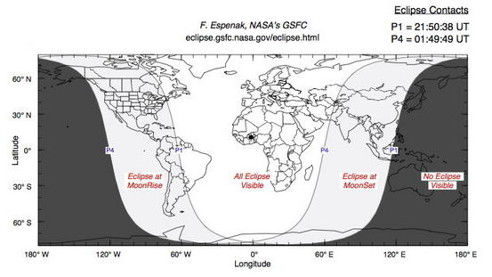 Lunar Eclipse Rises With Full Moon Tonight: Watch It Live Online
