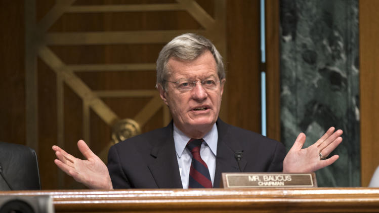 Officials: Democratic Sen. Baucus to retire