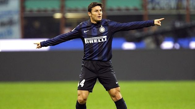 Javier Zanetti is ready to wait patiently for first start (Reuters)