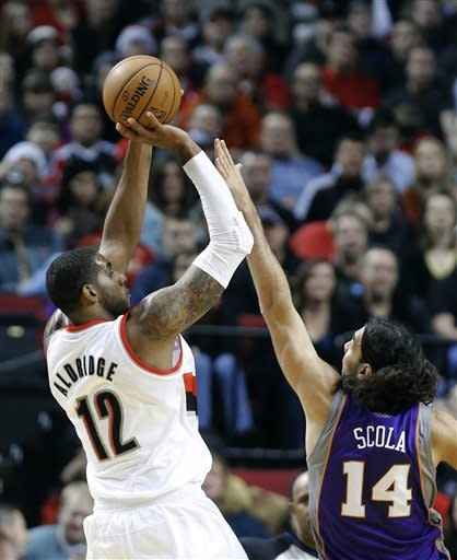 Portland beats Suns 96-93 for fifth straight win