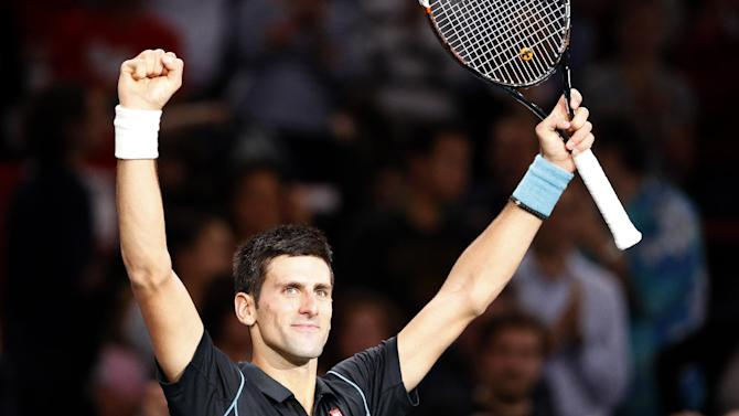 Djokovic beats Federer at Paris Masters