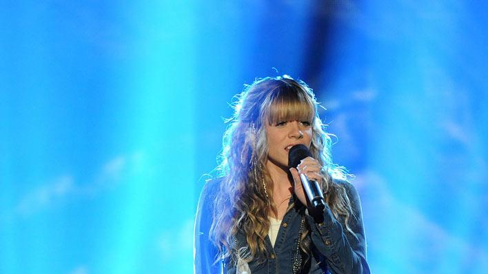 "Drew Ryniewicz performs ""Skyscraper"" by Demi Lovato on ""The X Factor."""