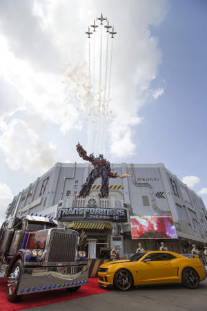 New, intense ride opens at Universal Studios