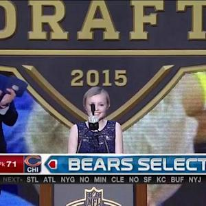 Chicago Bears pick center Hroniss Grasu No. 71 in 2015 NFL Draft