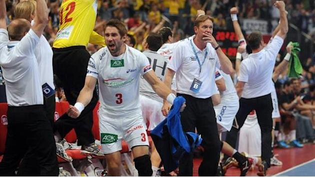 Handball - Hamburg win first Champions League title