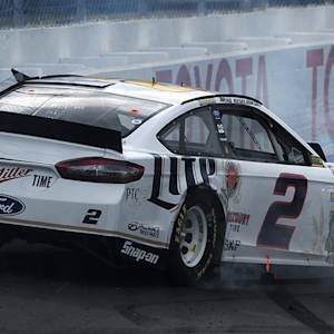 Keselowski goes around