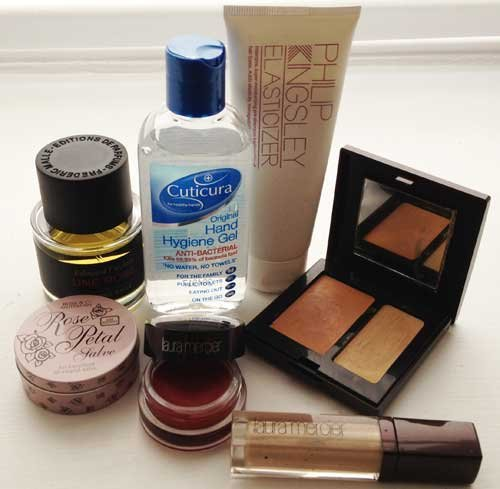 Make Up Artist Laura Mercier Shows Us The Contents Of Her Beauty Bag: EXCLUSIVE