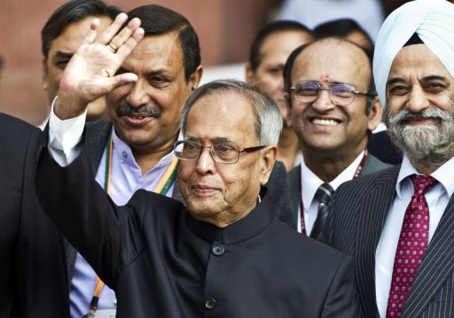 <p>Former finance minister Pranab Mukherjee, seen here in March 2012, has won India's presidential election, collecting more than half of the electoral college votes, the Press Trust of India news agency says</p>