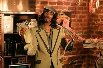 Snoop Dogg as Huggy Bear in Warner Bros. Starsky & Hutch