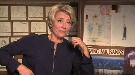 Emma Thompson On Portraying PL Travers for Saving Mr. Banks