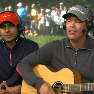 Clay Walker and Kunal Nayyar interview at AT&T Pebble Beach