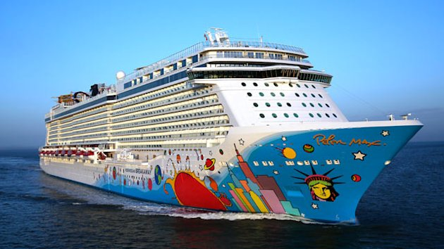 Norwegian Cruise Line's Breakaway Inspired by New York Home Port (ABC News)