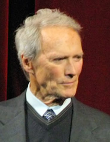 """J. Edgar"" director Clint Eastwood."