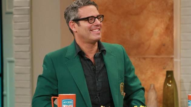 Bravo's Andy Cohen stops by Access Hollywood Live on April 12, 2013 -- Access Hollywood