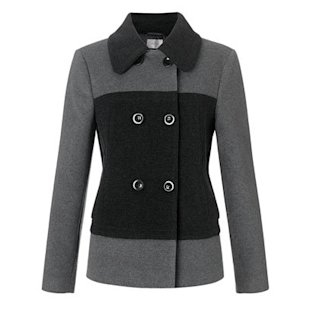 Colour Block Coat John Lewis: What To Wear: School Run: Winter Jackets