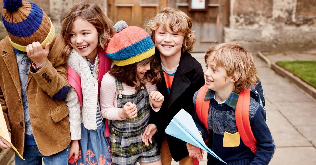 Back to School with Mini Boden
