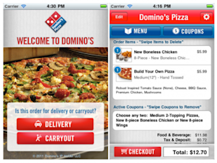 Selection of the Best 10 Apps for Freshmen image dominos 600x453