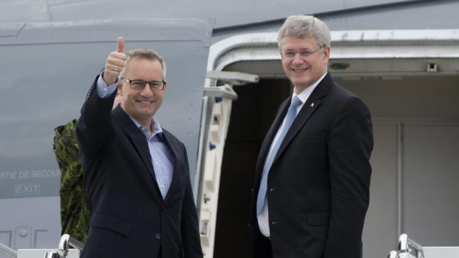 Canada PM arrives in Brussels to conclude EU deal