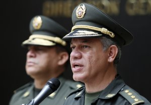 Colombia National Police Chief Gen. Jose Roberto Leon, …