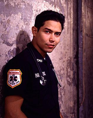 Anthony Ruivivar as paramedic Carlos Nieto on NBC's Third Watch Third Watch