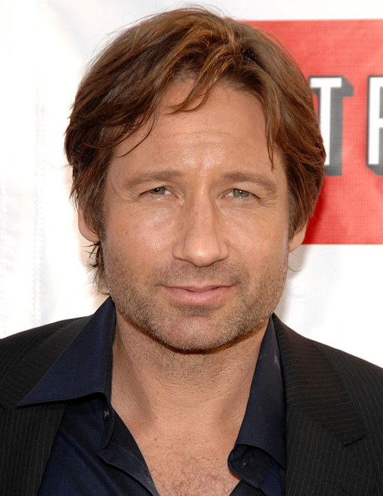 David Duchovny arrives at the Weeds Season 3 and Californication Premiere 