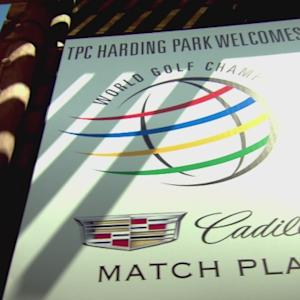 The semifinal matches are set…almost at Cadillac Match Play