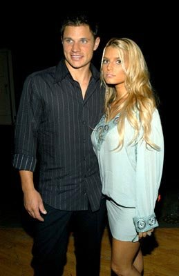 Nick Lachey, Jessica Simpson MTV Movie Awards - 5/31/2003