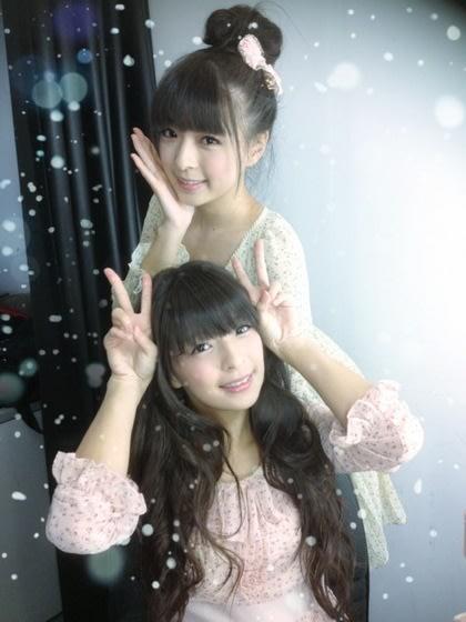 明星雙胞胎/萱野可芬、萱野可芳 雙胞胎正妹互換身分上學