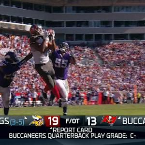 Wk 8 Report Card: Tampa Bay Buccaneers