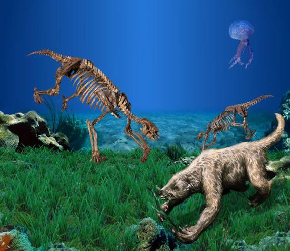 Secret to Ancient Sloths' Aquatic Lives Found
