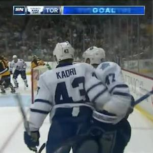 Leo Komarov Goal on Marc-Andre Fleury (08:11/2nd)