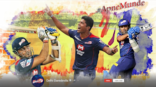 Top 20 Indian Business Pages On Google Plus 2013 image Delhi Daredevils G  cover page 1024x571